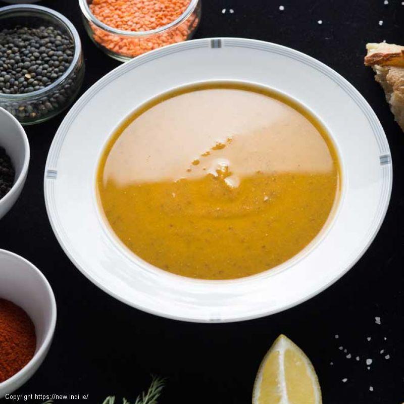 Spiced Lentil and Lemon Soup