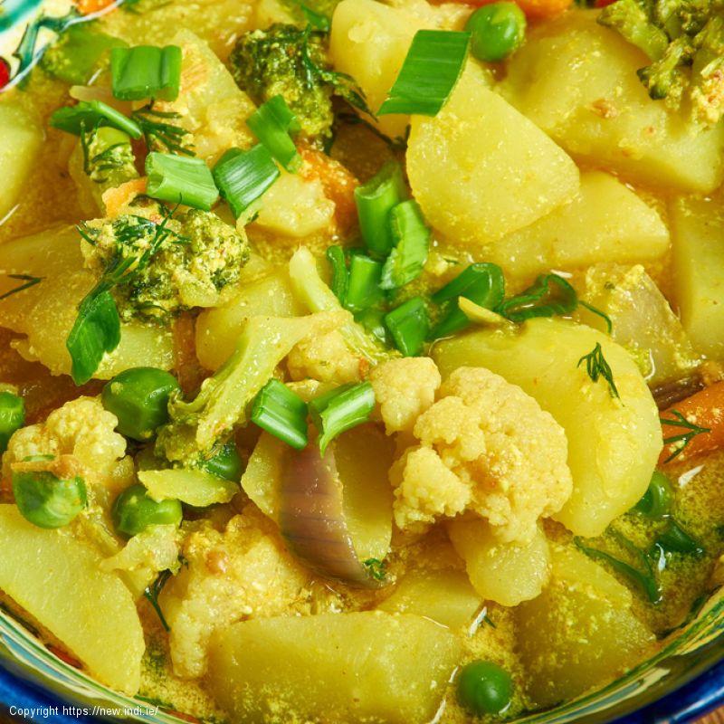 Veggie Coconut Curry