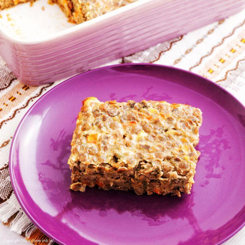 Veggie Lentil Bake